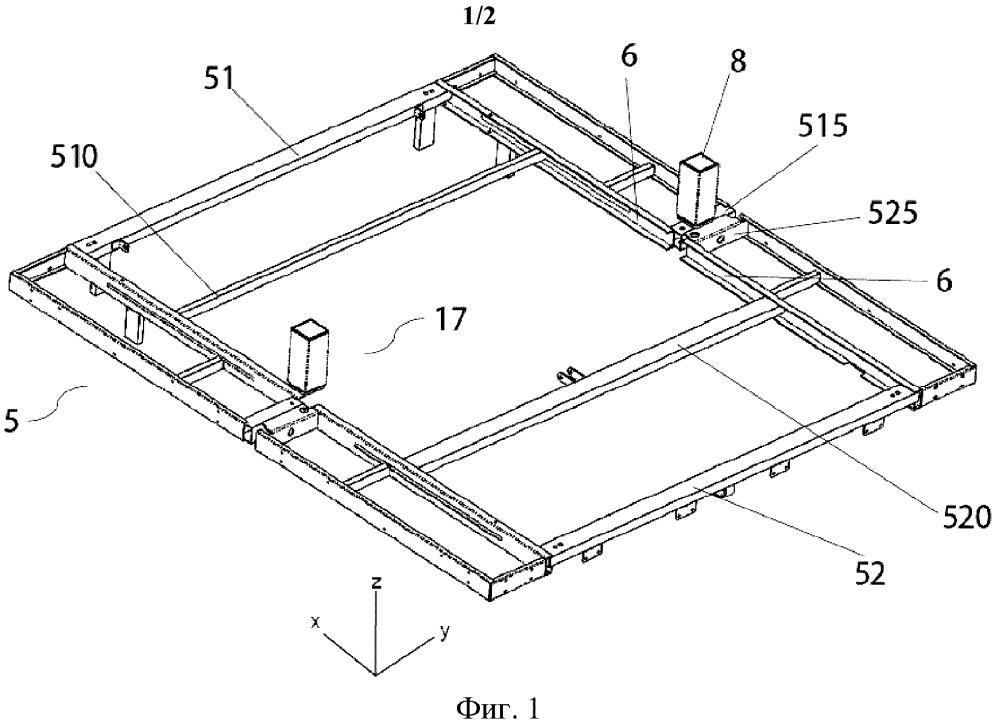 Рамная конструкция электрической кровати