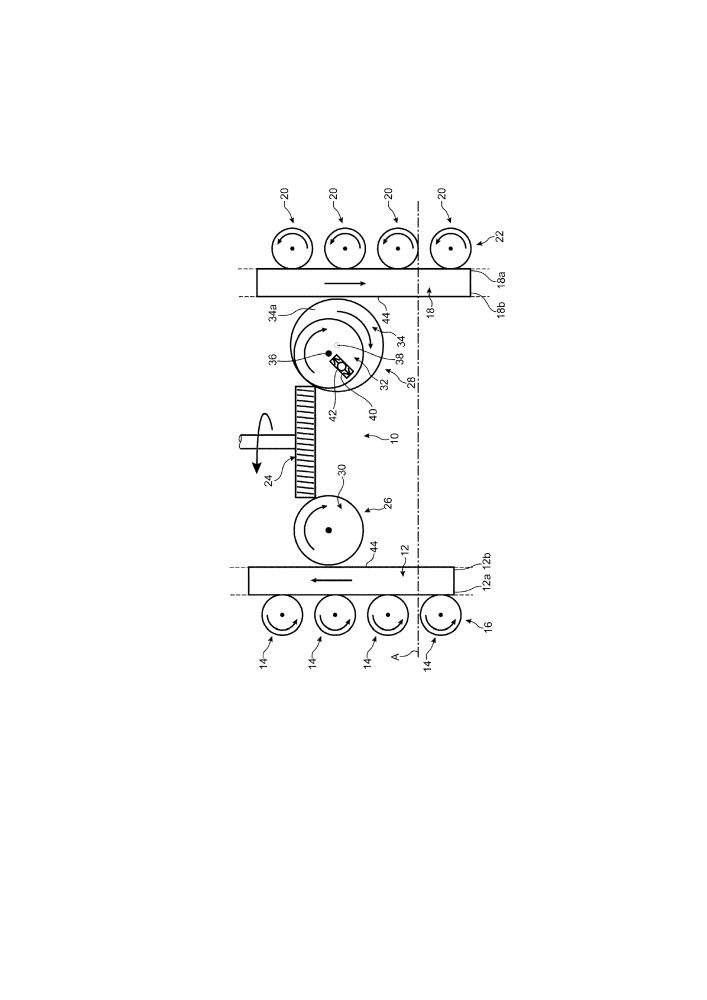 Приводной механизм и турбомашина летательного аппарата, содержащая такой механизм
