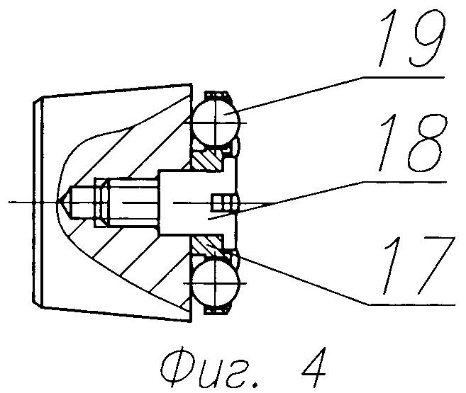 Блок рулевого привода ракеты