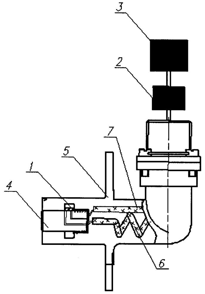 Сигнализатор температуры и магнитных продуктов износа в системе смазки