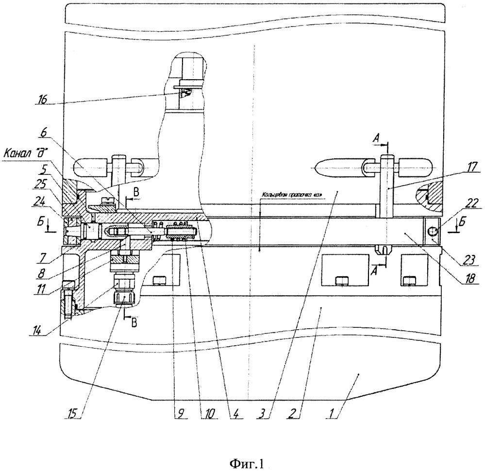 Устройство разделения плавучего прибора на герметичные отсеки