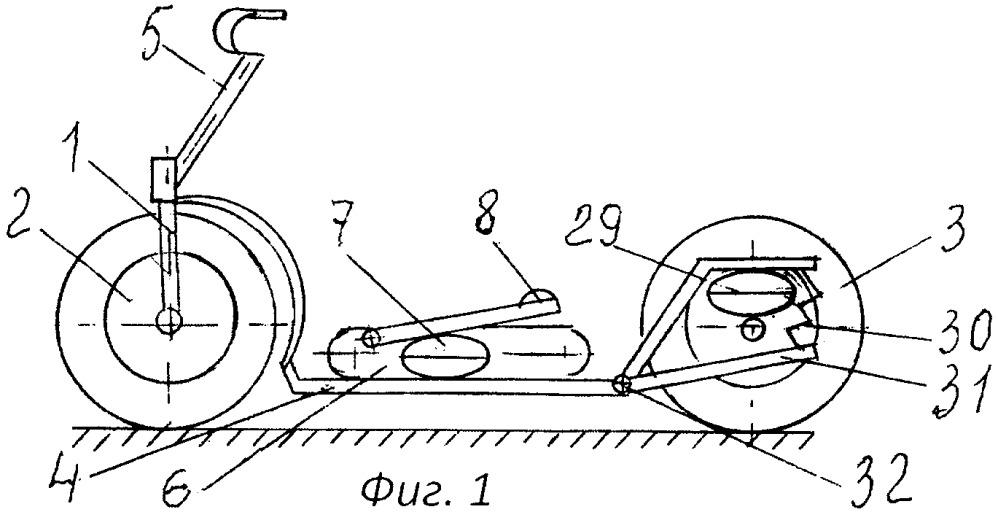 Мускулокат арзамасцева производит энергию и двигается пневомоторными колесами