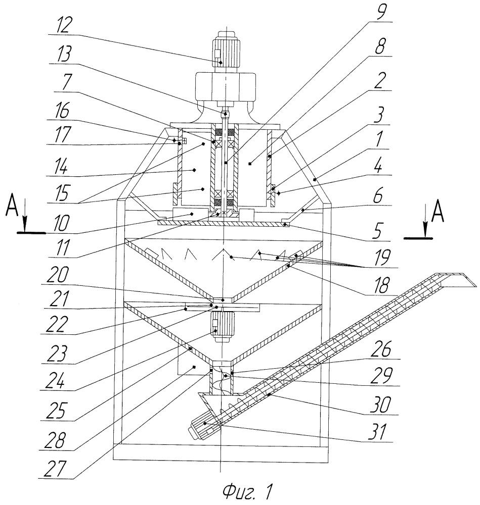 Малогабаритный комбикормовый агрегат