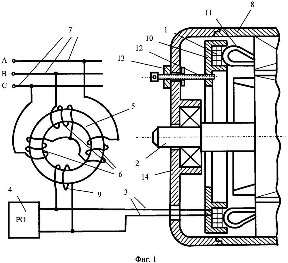 Устройство релейной защиты от витковых замыканий статорной обмотки двигателя переменного тока