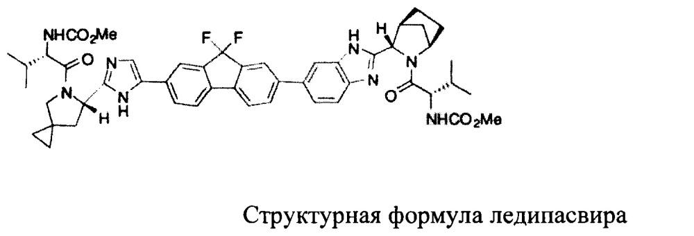 Способ получения хирального промежуточного соединения ледипасвира