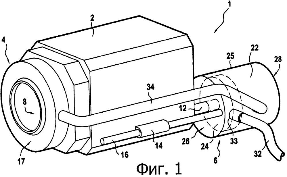 Устройство для очистки камеры системы помощи водителю автомобиля
