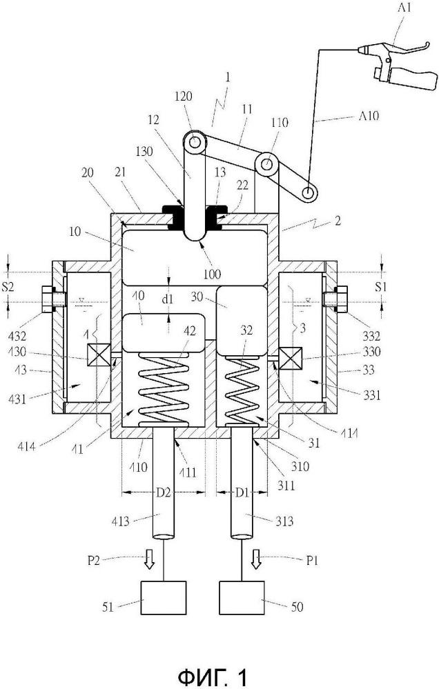 Устройство гидравлического тормоза с разновременностью срабатывания и его узел