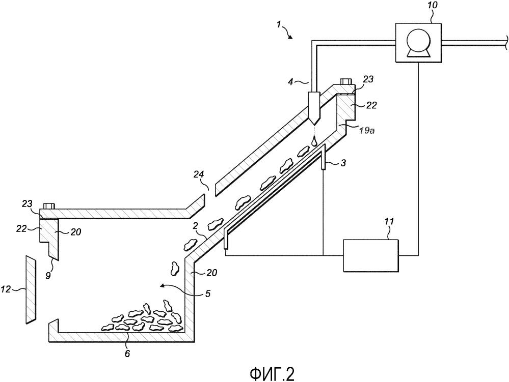 Устройство для образования пара, содержащее контейнер для накипи