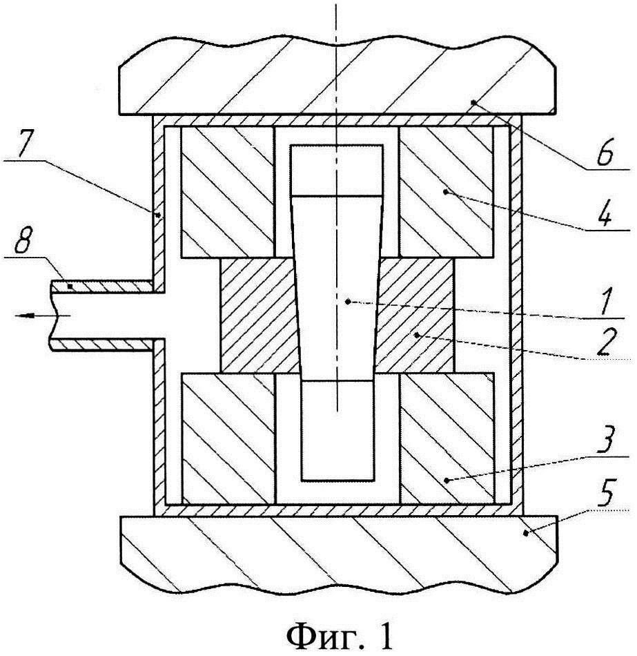 Способ изготовления составной заготовки типа диск-вал из жаропрочных сплавов