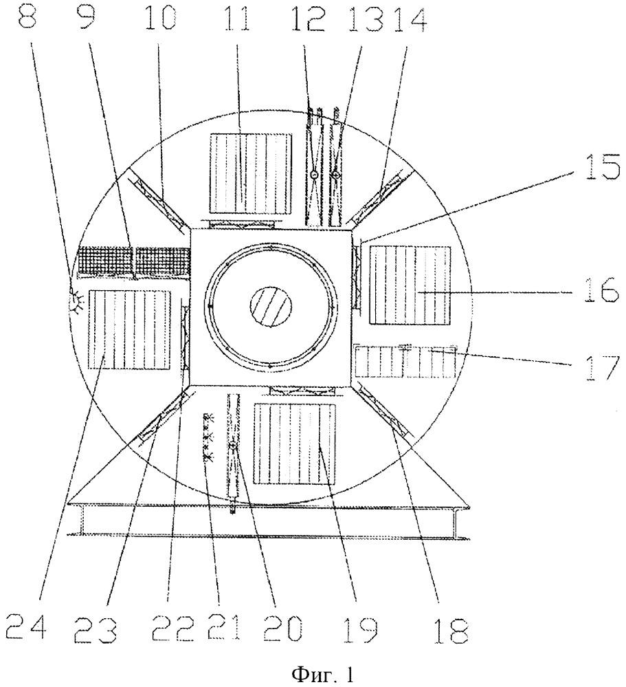 Блок экосистемы воздуха дискового типа и климатический экологизированный способ кондиционирования воздуха для этого блока