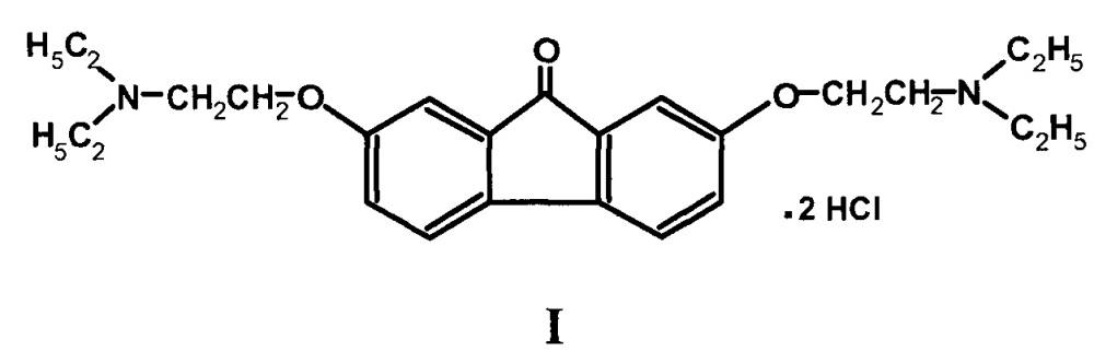 Способ получения дигидрохлорида 2,7-бис-[2-(диэтиламино)этокси]-флуоренона-9