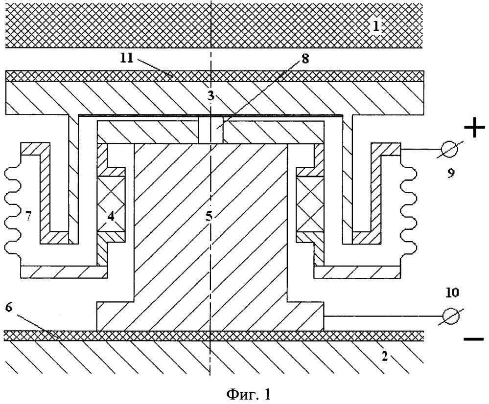 Термоэмиссионный преобразователь для бортового источника электрической энергии