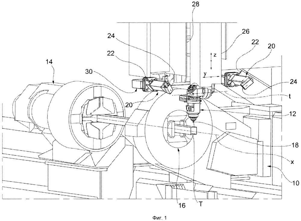 Станок для лазерной обработки труб и профилей со сканирующей системой для сканирования трубы или профиля, подлежащих обработке