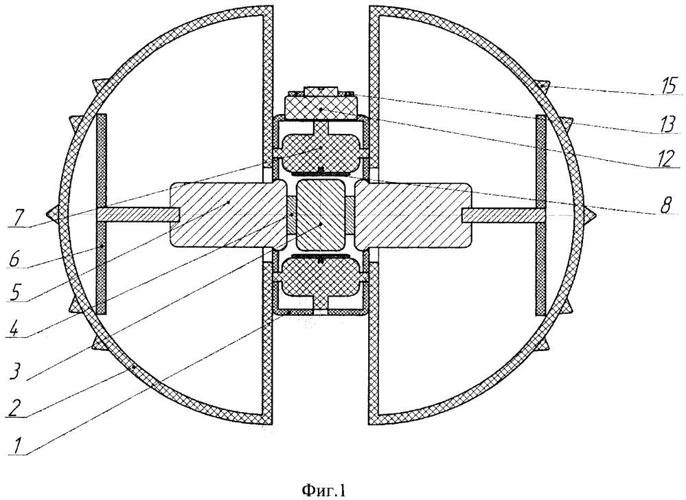 Робот для технического контроля трубопроводов и сложных изгибных участков труб