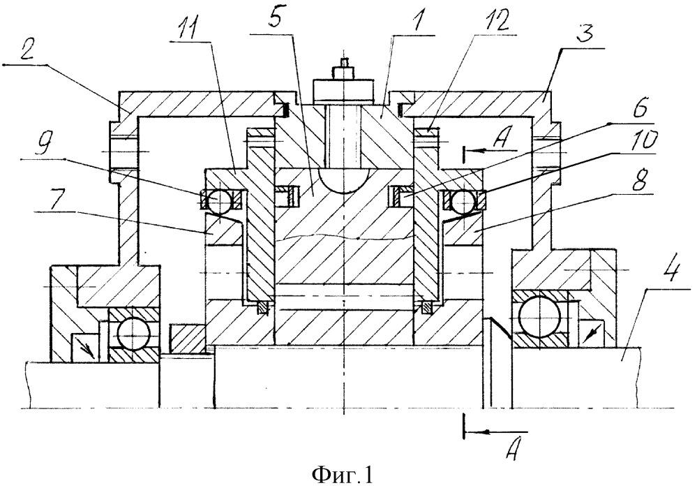 Шеститактный роторно-лопастной двигатель внутреннего сгорания