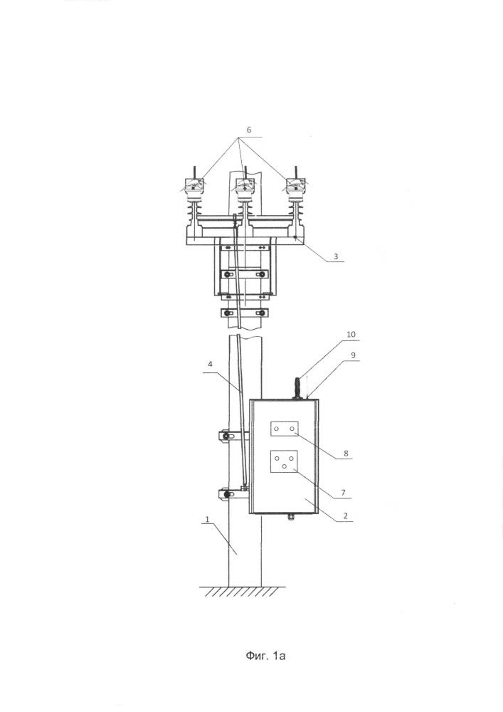 Интеллектуальное устройство дистанционного секционирования воздушных линий электропередачи