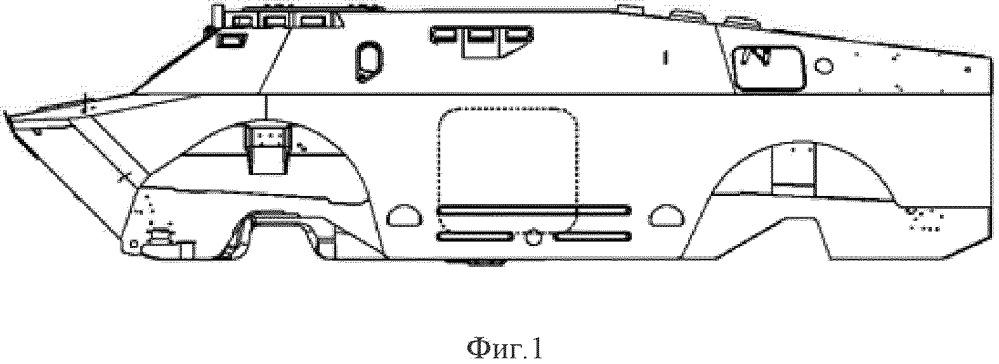 Способ модернизации автомобиля брдм-2