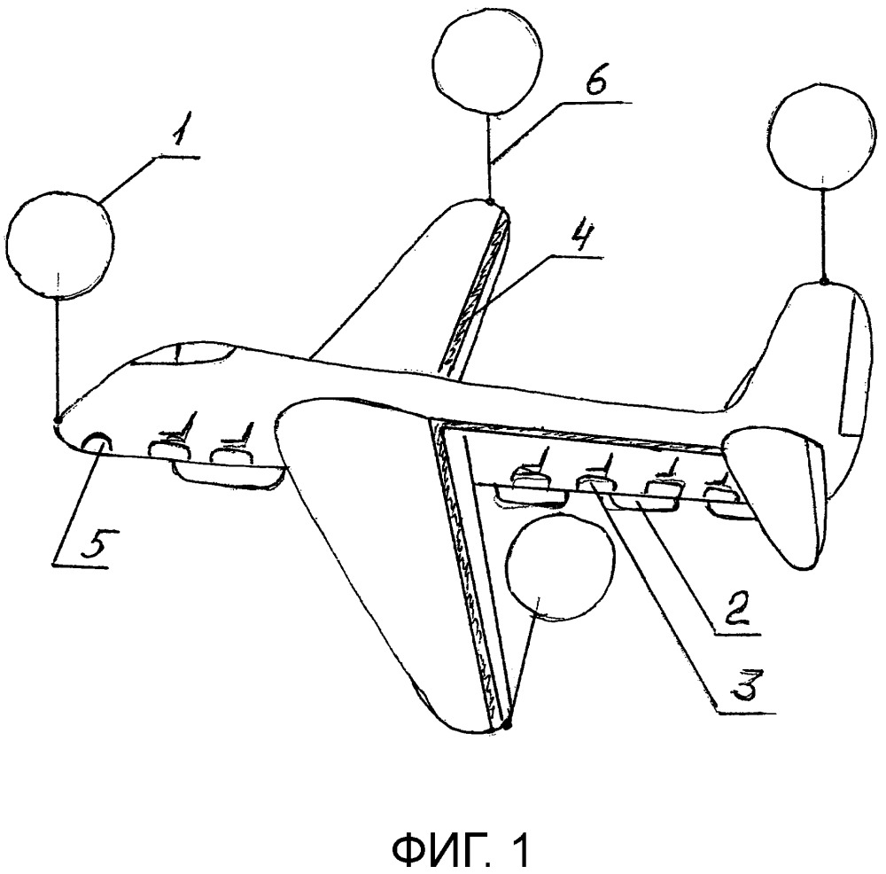 Устройство аварийного приземления авиалайнера