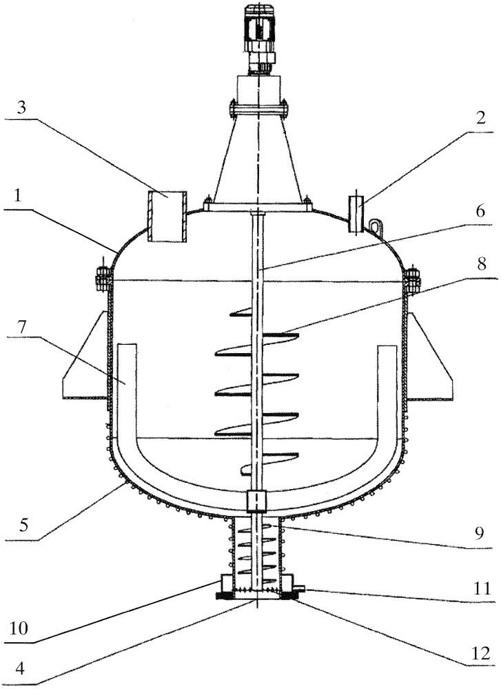 Установка для сушки отработанных ионообменных смол