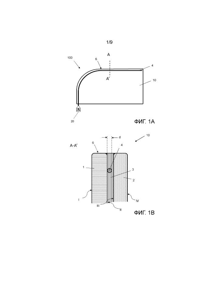 Освещаемая композитная панель