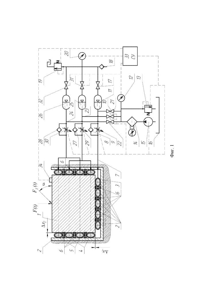 Устройство для демпфирования ударных и вибрационных нагрузок