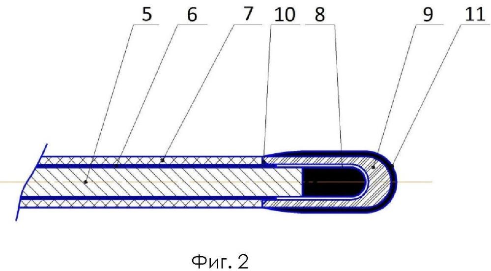 Устройство для лазерного облучения сосудов и внутренних органов