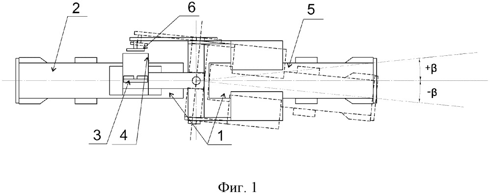 Устройство определения угла поворота секции дождевальной машины кругового действия