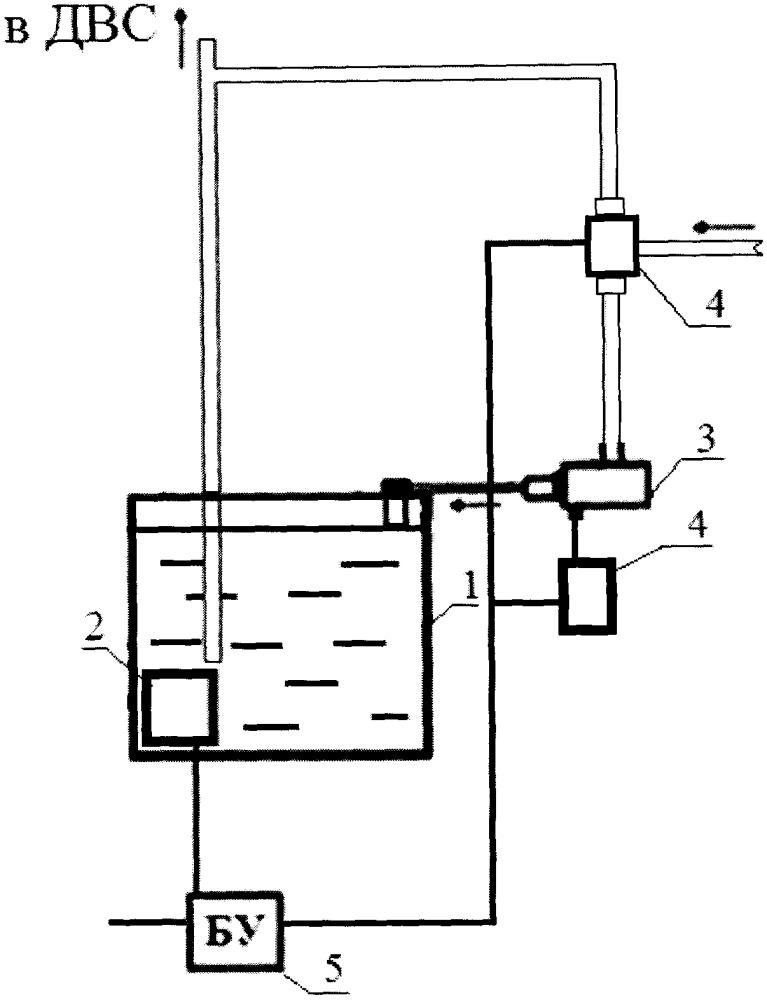 Устройство для безразборной очистки деталей двигателя внутреннего сгорания от нагара
