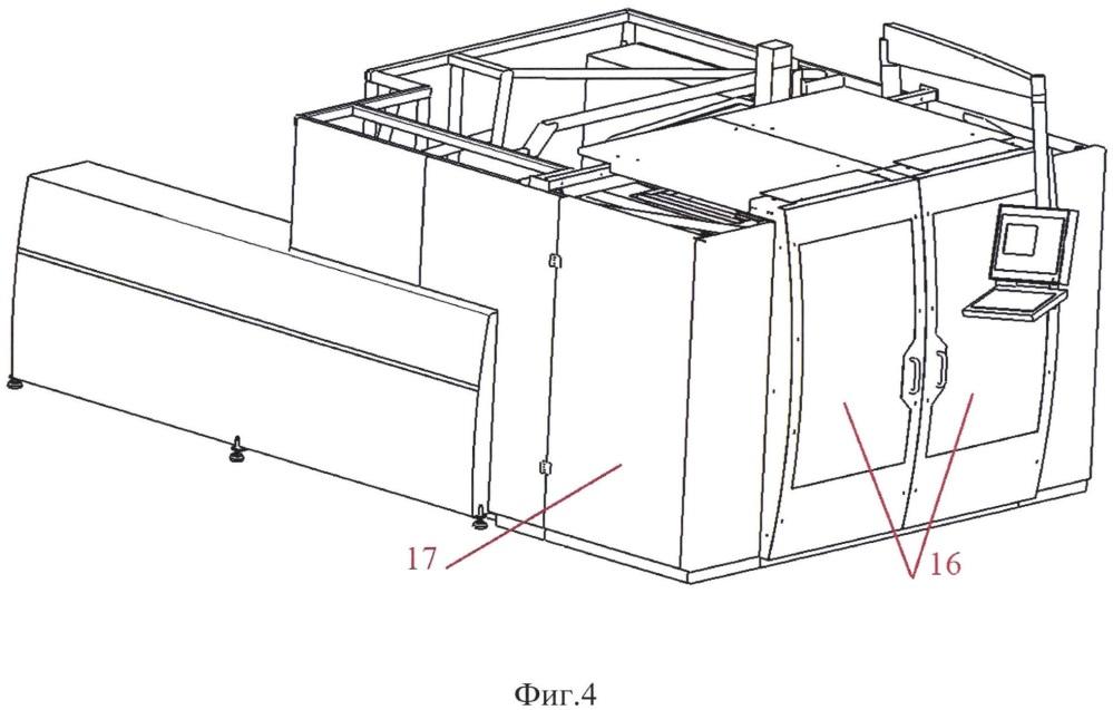 Автоматизированный лазерный технологический комплекс для термоупрочнения поверхности детали