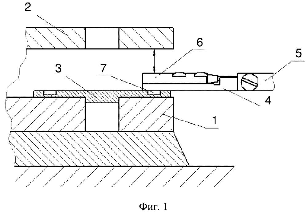 Способ определения высоты клиновых пригоночных подкладок круглой формы