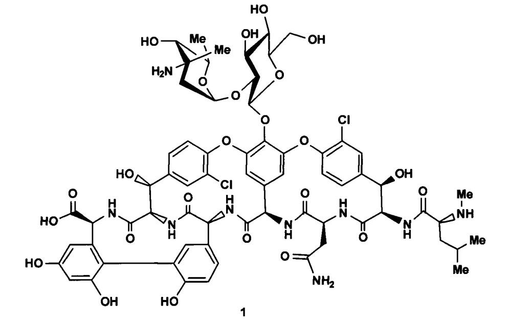 Новые производные эремомицина и их применение для лечения бактериальных инфекций