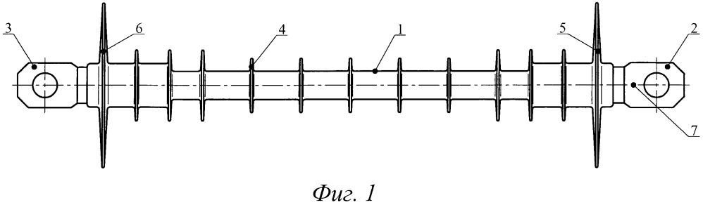 Птицезащитный стержневой изолятор (варианты)