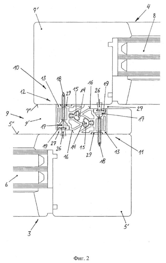 Уплотнительное устройство для перемещающейся створки, выполненной в качестве раздвижной или подъемно-раздвижной створки окна или двери