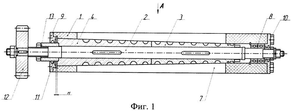 Роторный питатель для сыпучего материала