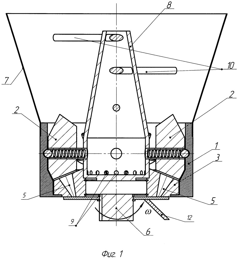 Пресс-гранулятор шестеренного типа