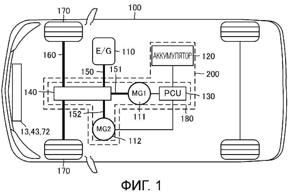 Охлаждающее устройство системы привода транспортного средства