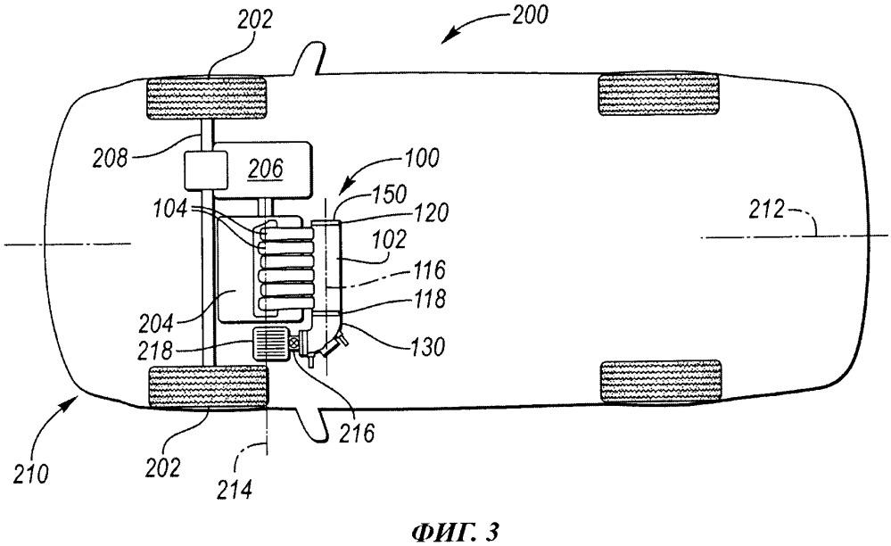Модульный входной коллектор, способ обеспечения такого коллектора и узел двигателя и впускной системы для транспортного средства