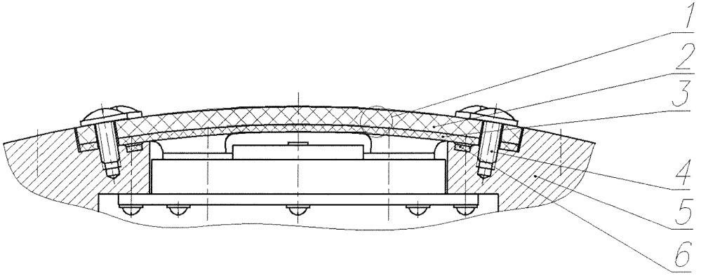 Радиопрозрачный обтекатель бортовой антенной системы летательного аппарата