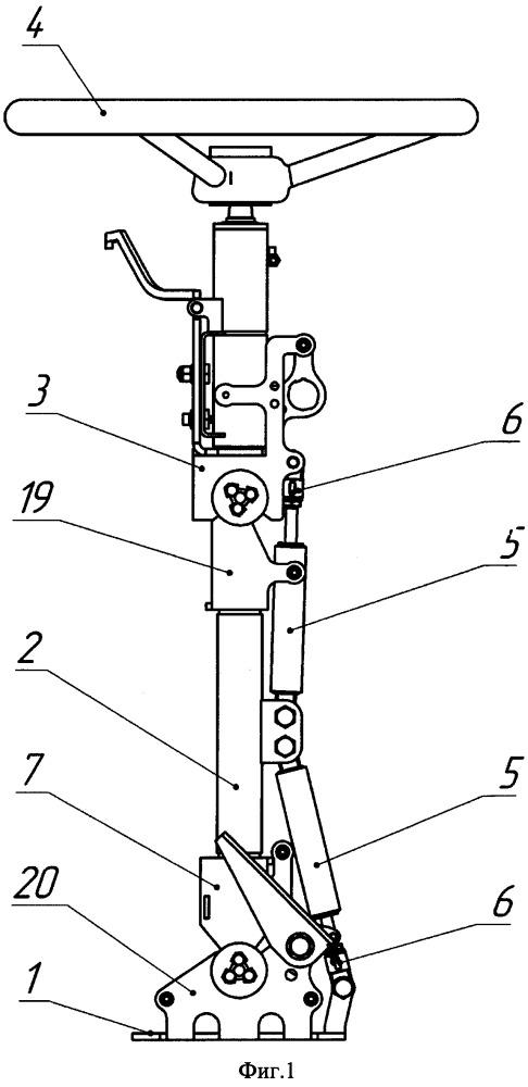 Рулевая колонка транспортного средства