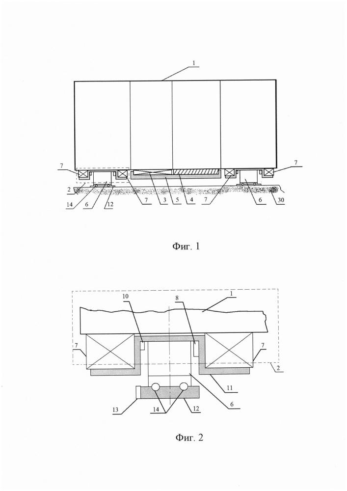 Система гашения механических колебаний, передающихся от строительной части сооружений на комплектное электрооборудование и/или программно-технические комплексы атомных электростанций (аэс)