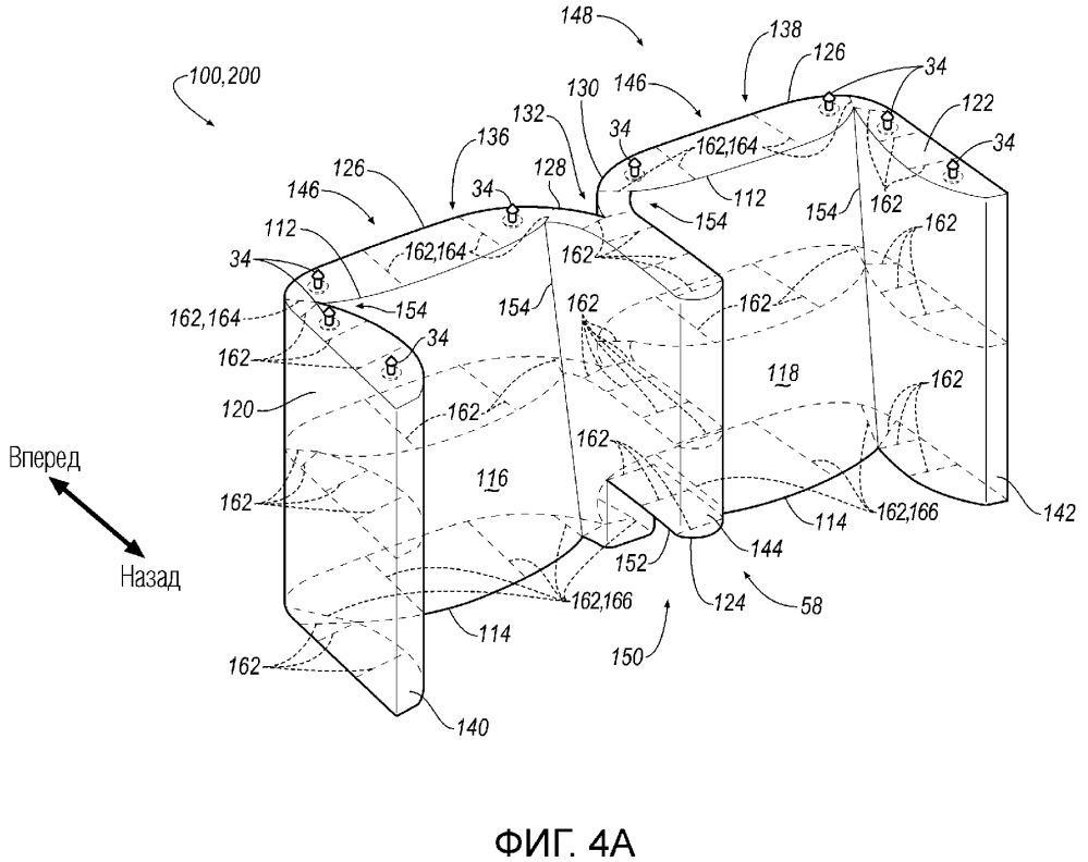 Подушка безопасности (варианты) и транспортное средство