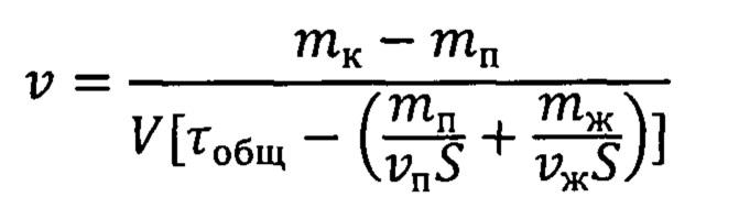 Способ определения скорости заполнения пор пористого материала конденсатом паров металла