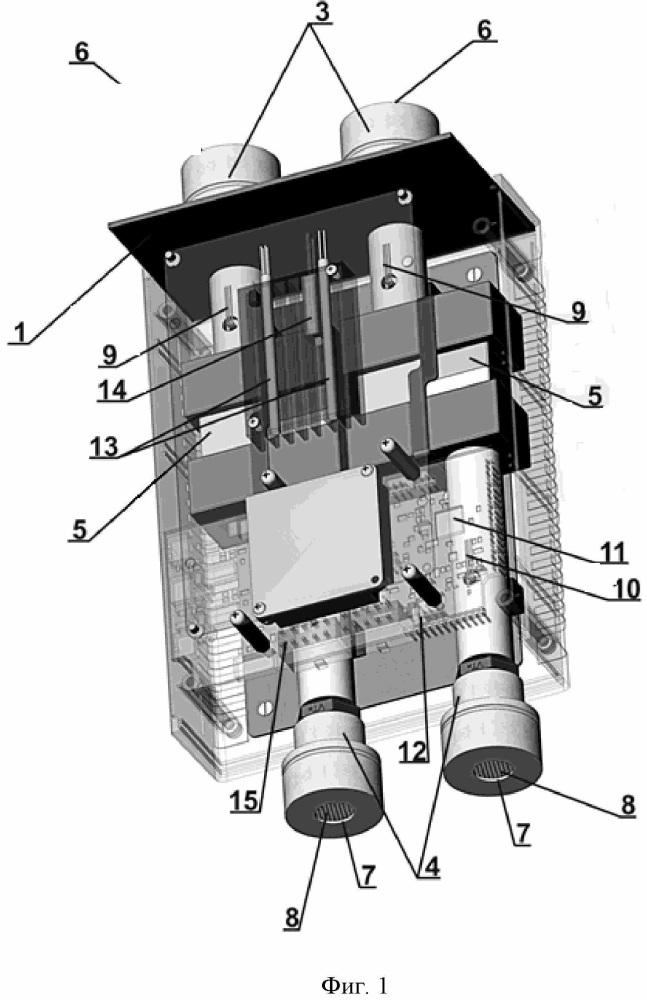 Измеритель, система и способ измерения массовой концентрации пылевых частиц