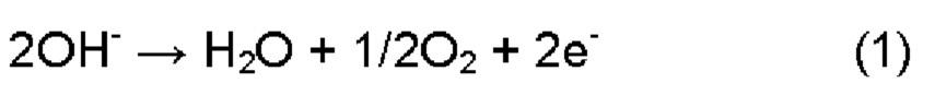 Анод для электролиза водного раствора щелочи и способ изготовления анода для электролиза водного раствора щелочи