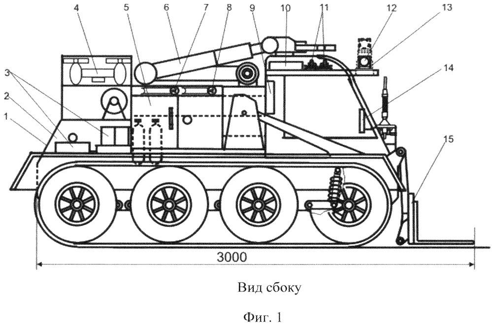Роботизированный диагностический комплекс технической разведки