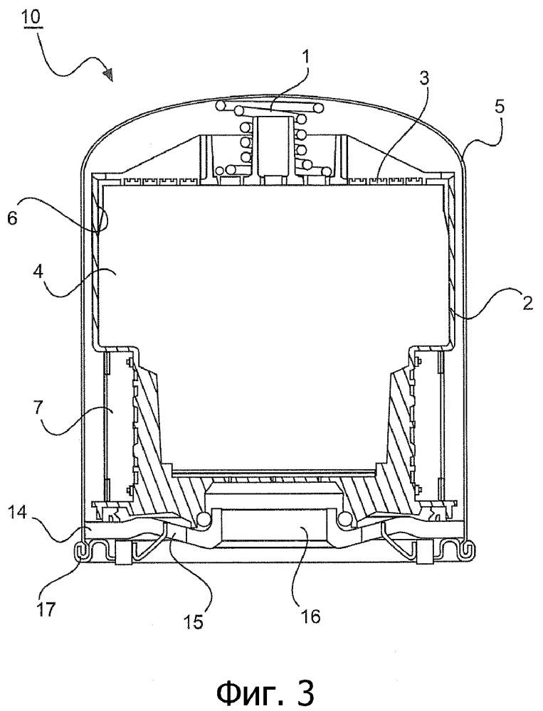 Патрон воздухоосушителя и винтовая пружина для патрона воздухоосушителя