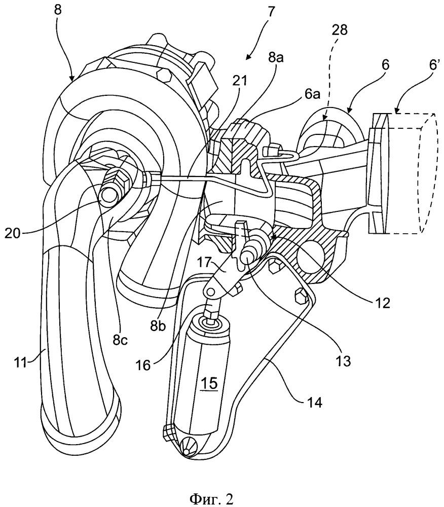 Устройство для торможения двигателем, способ его эксплуатации и имеющее его траспортное средство