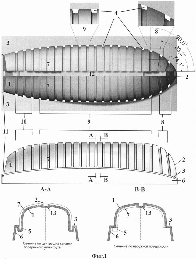 Кондуктор и набор-конструктор для изготовления корпуса деревянной масштабной модели судна