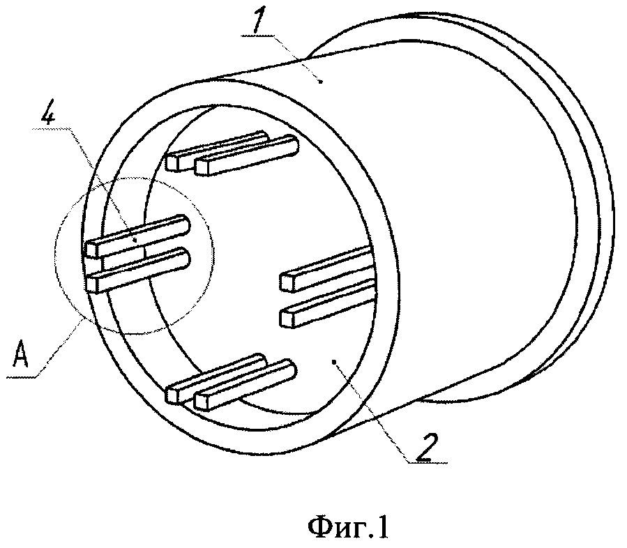 Проходной электрический соединитель