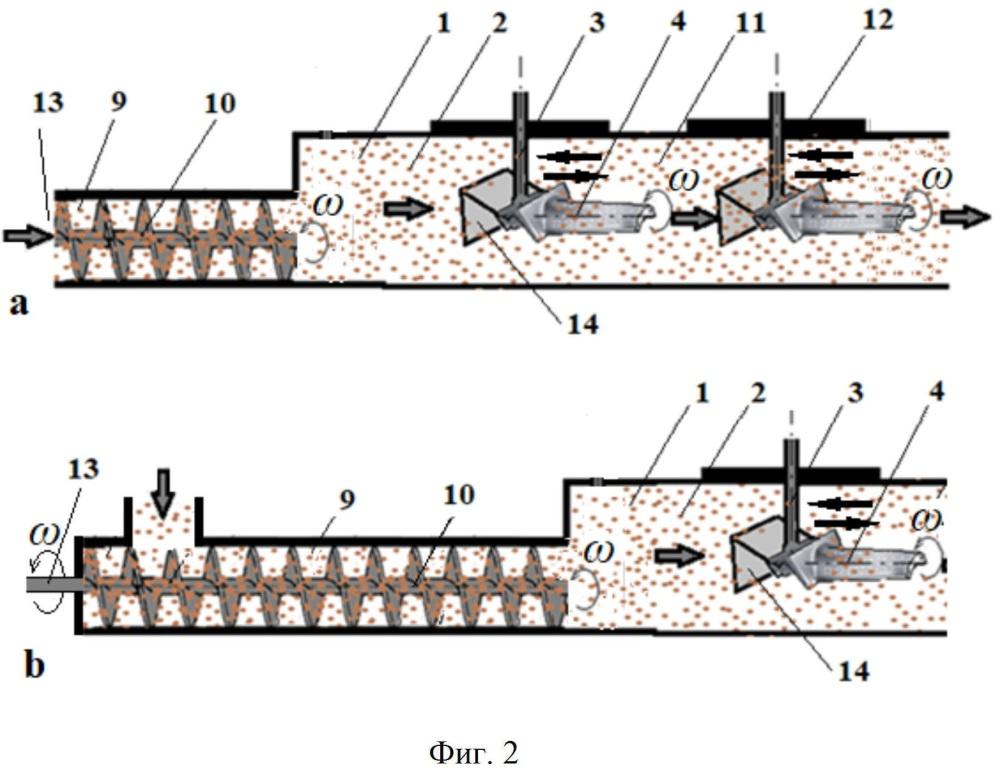 Способ обработки перфорационных отверстий в полых лопатках турбомашины и установка для его реализации